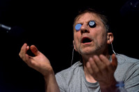 'The Encounter' performed by Simon McBurney at the Edinburgh International Conference Centre, Edinburgh, UK.